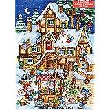 Christmas Market Chocolate Advent Calendar (Countdown to Christmas)
