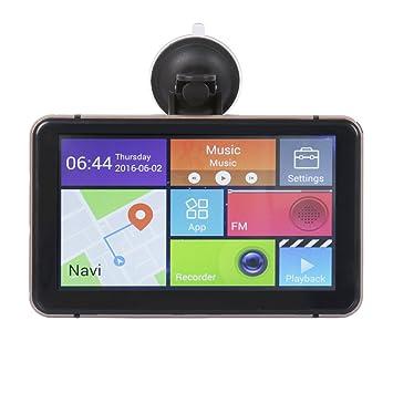 """navline 7 """"Android GPS Dash Cam con integrado, coche GPS navegación + Grabadora"""