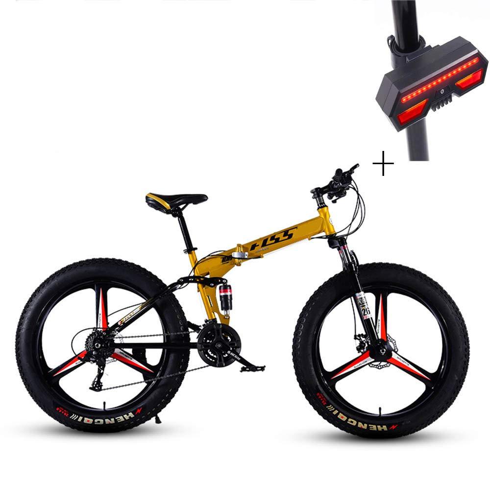 Huoduoduo バイク マウンテンバイク 26インチ 24スピードディスク ブレーキ高炭素鋼 オフロード車 自転車ウィンカー B07H2HFCCY