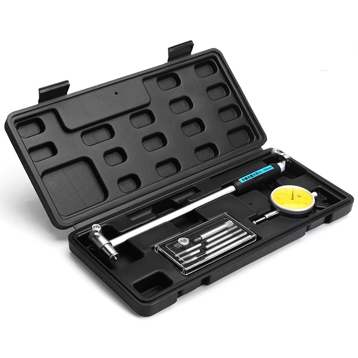 KUNSE 50Mm-160Mm 0.01 mm Digitales Ziffern Bohrger/ät Motorzylinder Messwerkzeug-Messger/ät