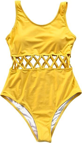 Amazon.com: CUPSHE traje de baño de una sola pieza sin ...