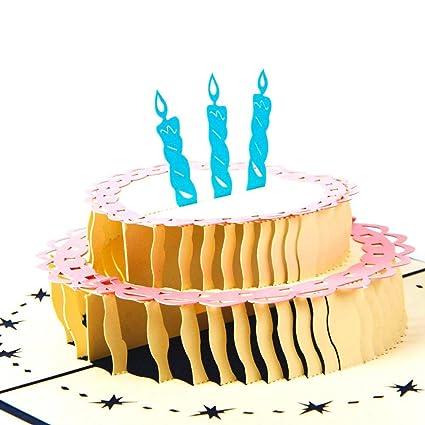 Tarjeta de Cumpleaños Pop Paper Spiritz Feliz Cumpleaños ...