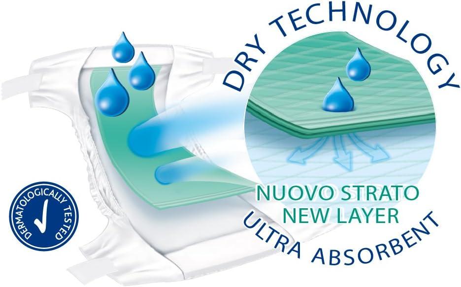 8-18 Kg Chicco DryFit Pack de 19 pa/ñales ultra absorbentes talla 4