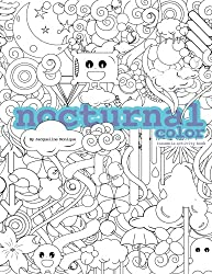 Nocturnal Color: Insomnia Activity Book