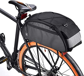 Lixada 10-Liter Bike Rack Bag