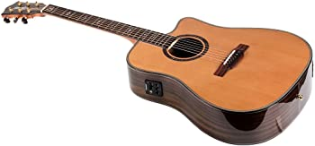 Monoprice Idyllwild Cedar Solid Top Acoustic Electric Guitar