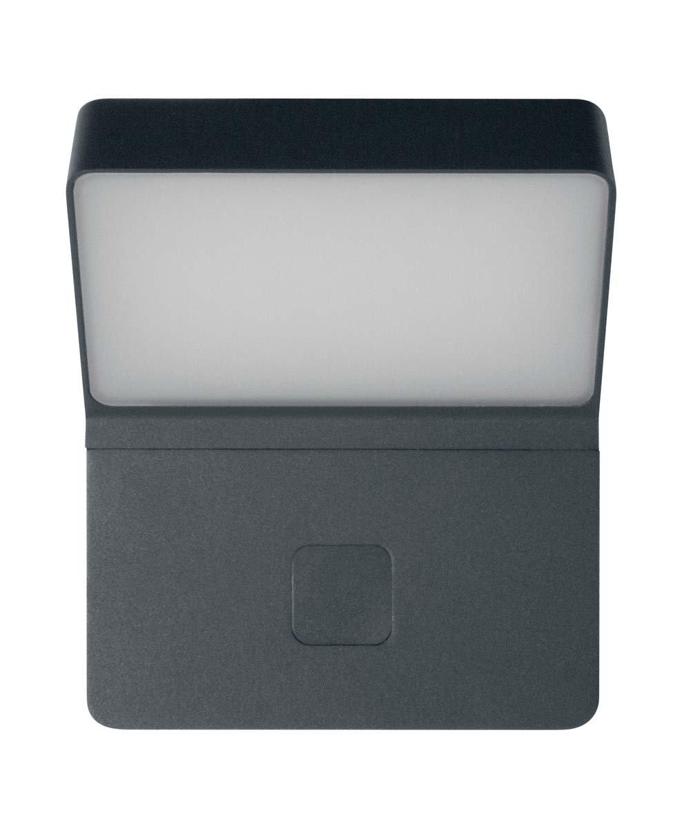 Osram LED Wand- und Deckenleuchte, Leuchte fü r Auß enanwendungen, Warmweiß , Integrierter Tageslicht- und Bewegungssensor, Endura Style WallWide Sensor Ledvance 4058075123335