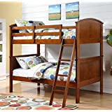 Twin Over Twin Arch Panel Bunk Bed