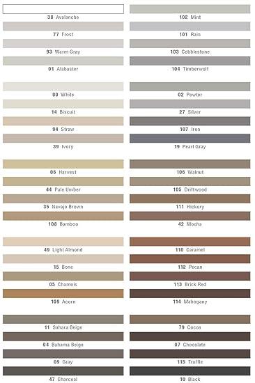 Mapei Keracolor U 10lb Bag Unsanded Grout - Various Colors (Mint 102)