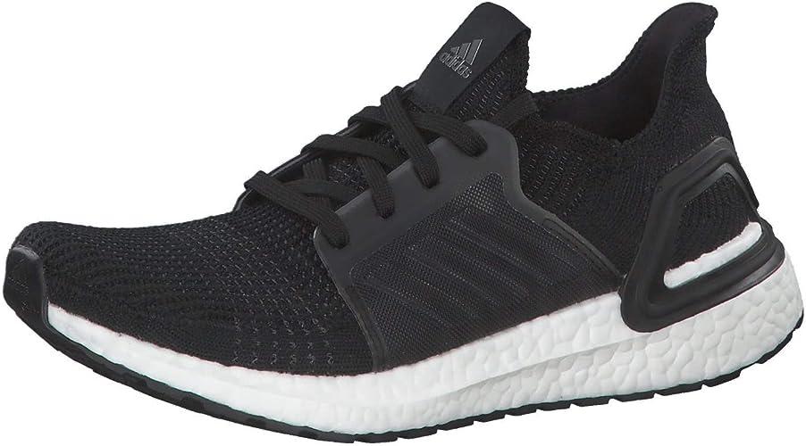 adidas Damen Ultraboost 19 W Laufschuhe, White Grey Black