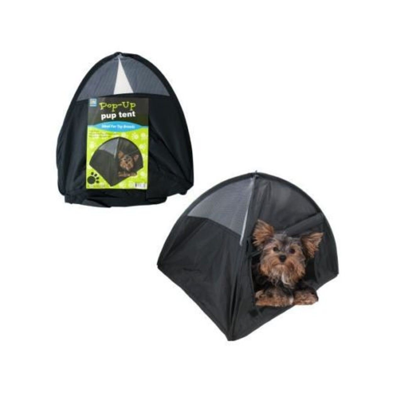 Amazon.com  NEW Small Pop Up C&ing Tent 14 Inch Black Nylon DOG Puppy Pet Cat Bed  Pet Supplies  sc 1 st  Amazon.com & Amazon.com : NEW Small Pop Up Camping Tent 14 Inch Black Nylon DOG ...