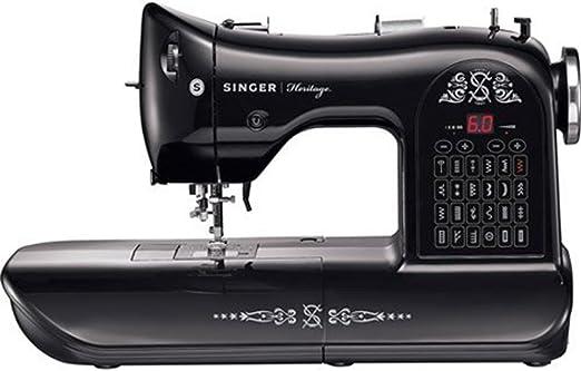 Máquina de coser Singer Heritage 8768 – Limited Edition: Amazon.es ...