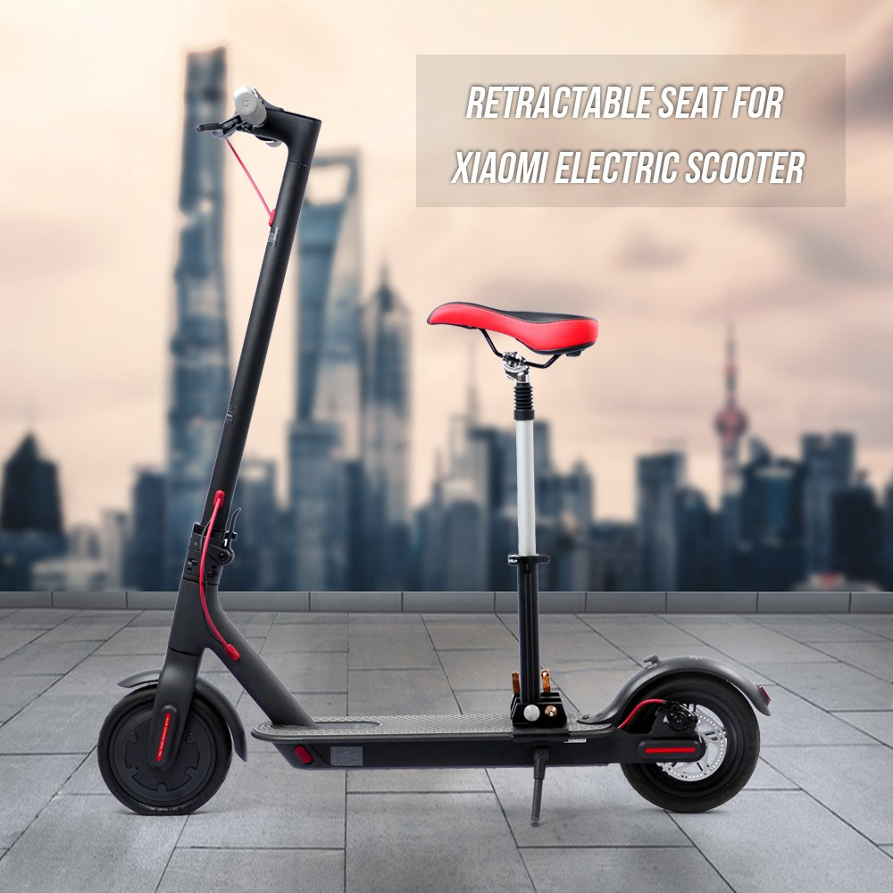 Lixada plegable Altura ajustable sillín para M365 Scooter ...