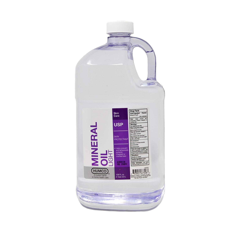 HUMCO 167328001 Mineral Oil Light USP gal, Shape