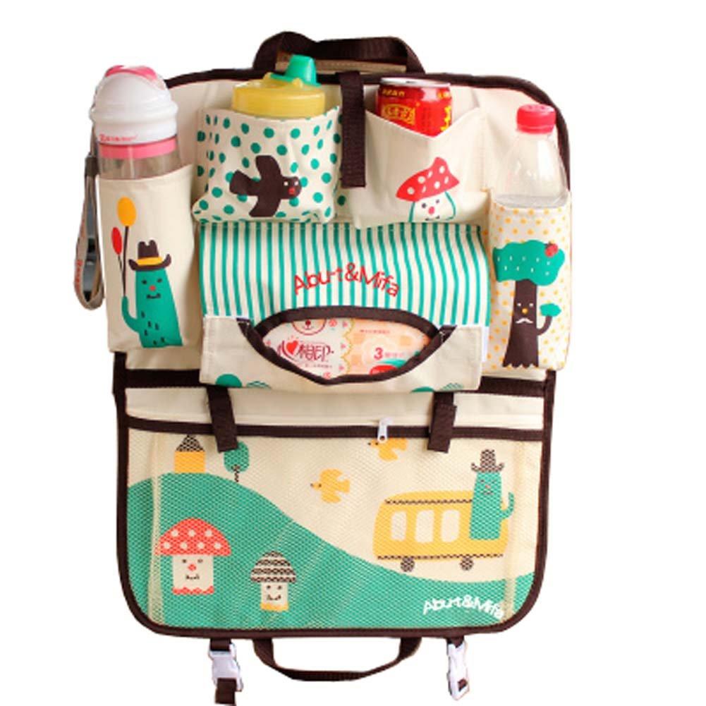 Siège sac de rangement multifonctionnel Car Pocket Carriage Sac Car Pouch Sacs Blancho Bedding