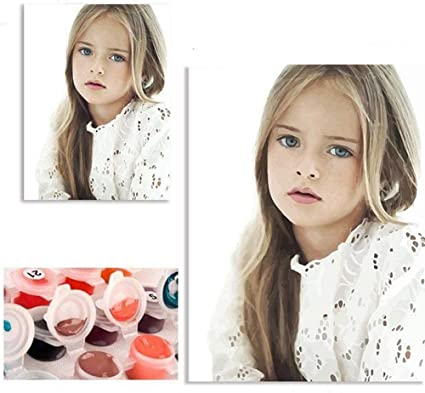 Amazon Com Colorwork Customize Paint By Numbers Kits With Your Own Photos Pictures Personalized Custom Photo Diy Number Painting For Adults Linen Canvas Without Frame Toys Games