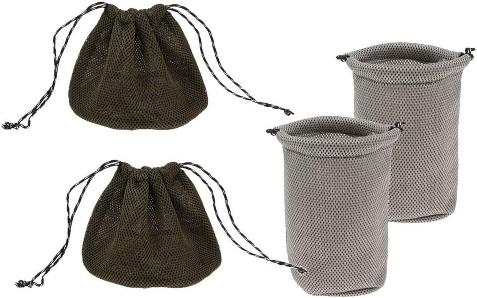 Cubiertos Platos CUTICATE 4X 3D Bolsa de Malla Cierre de Cord/ón de Doble Direcci/ón Organizador de Utensilios Tazones
