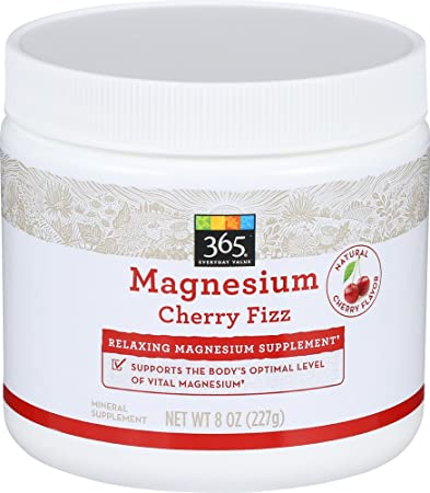 365 Everyday Value, Magnesium Cherry Fizz, 8 Ounce
