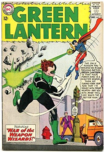 GREEN LANTERN #25 1963 DC COMICS SONAR GLOSSY COVER FN/VF