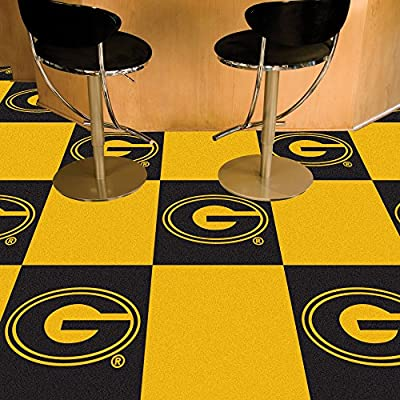 FANMATS 14148 Grambling State Carpet Tile