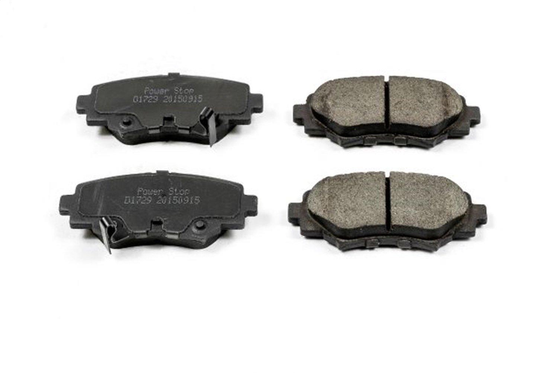 Power Stop 16-1729 Z16 Evolution Clean Ride Ceramic Brake Pad