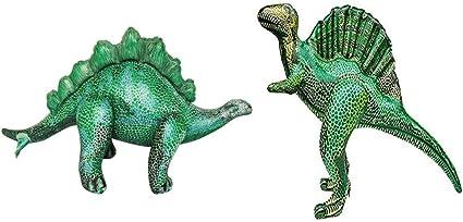 Amazon.com: Jet Creations Dinosaurio hinchable, paquete de 2 ...