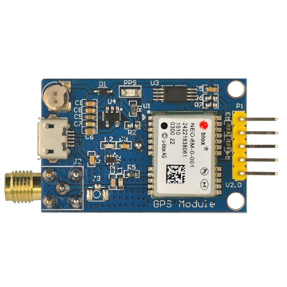 Gowoops GPS Module with 3m Active Antenna for Arduino STM32 51 Single Chip Microcomputer 4330271946