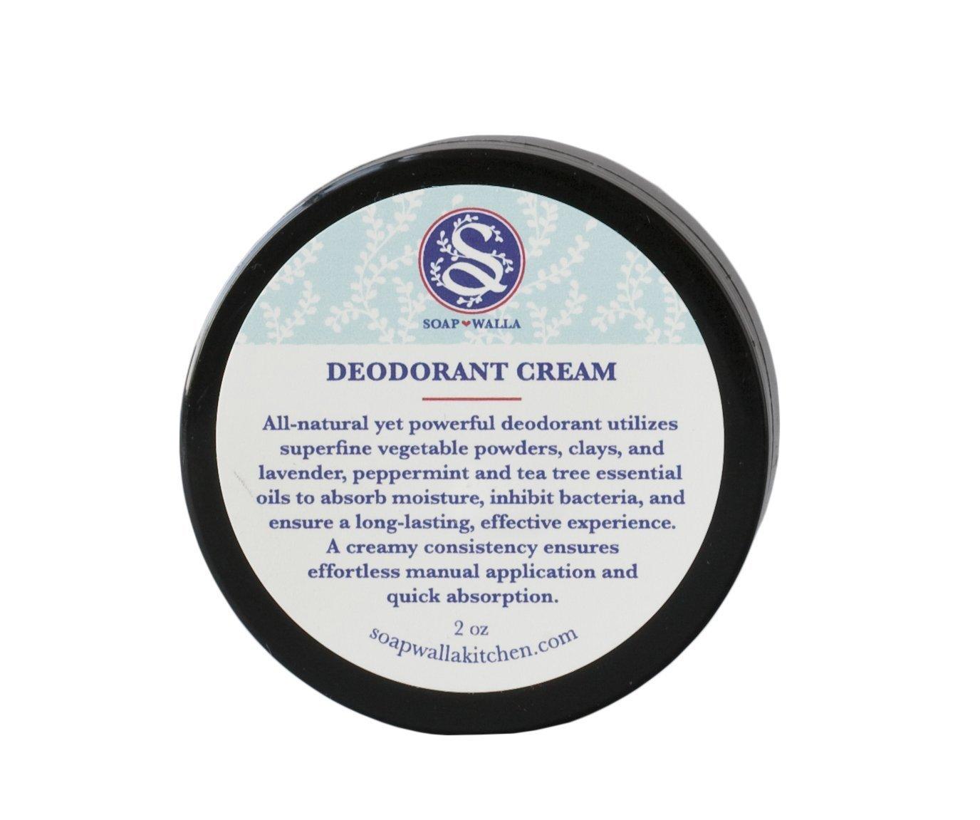 Soapwalla - Organic/Vegan Deodorant Cream (2 oz)