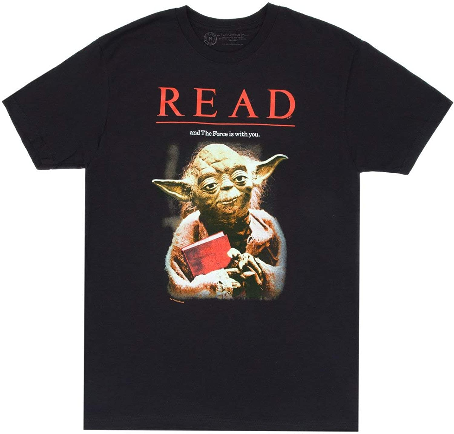 Out of Print Unisex/Men's Science Fiction and Fantasy Book-Themed Tee T-Shirt