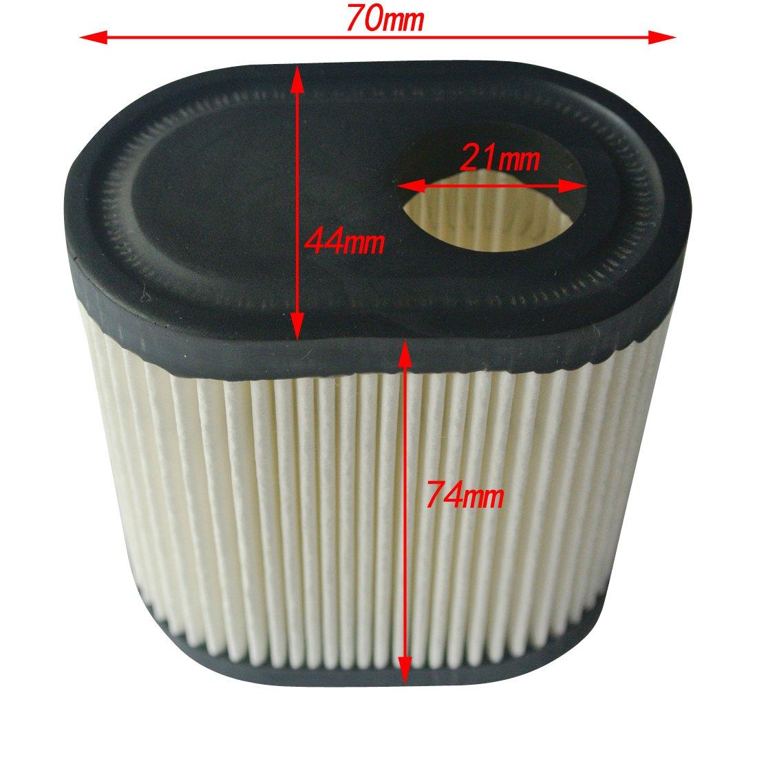 Ruichang 1 pi/èce de Filtre /à air pour Tecumseh 740083A /& ‿36905 Toro//Craftsman Remplacement