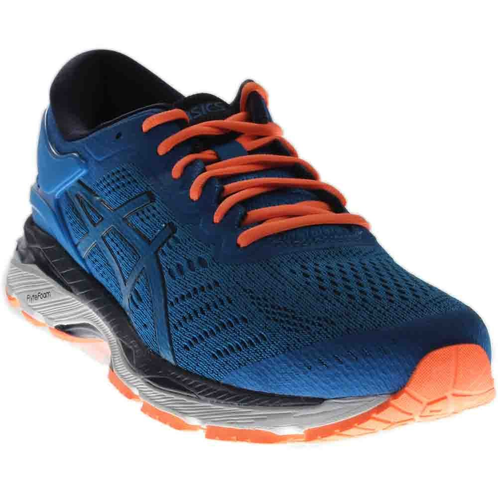 ASICS Men's Gel-Kayano 24 Running Shoe, Directoire Blue/Peacoat/Hot Orange, 12 Medium US