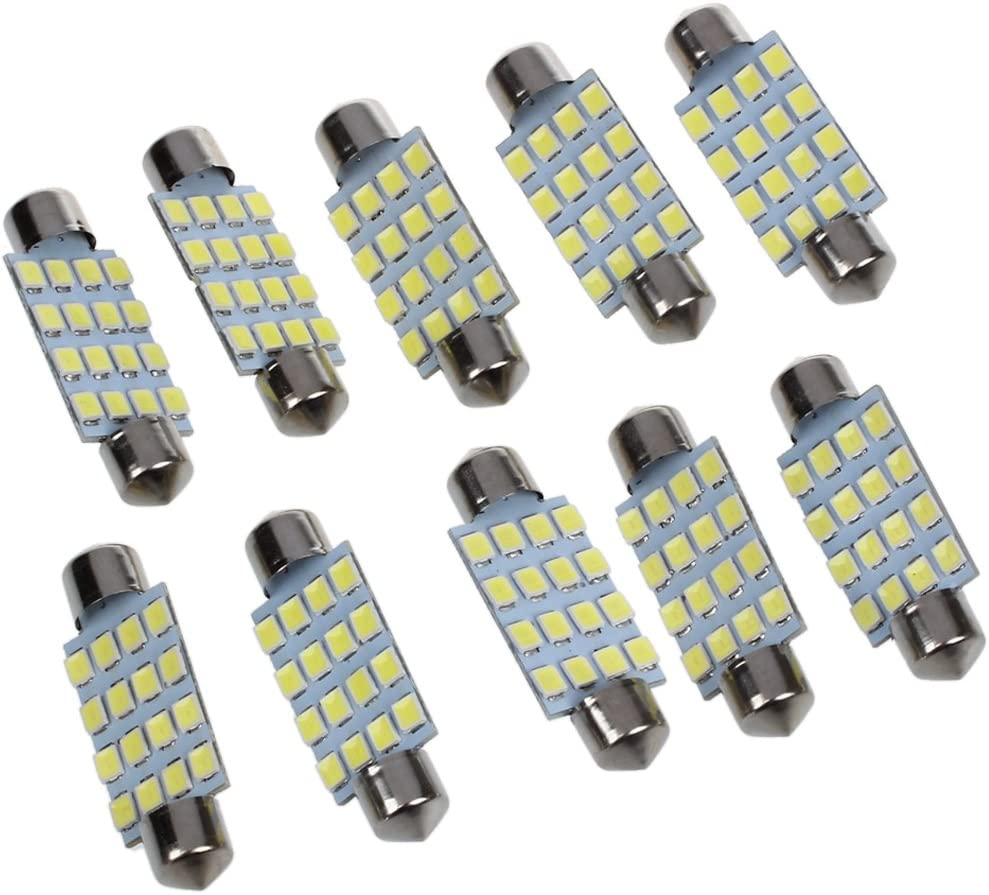 WOVELOT 10 x 42 mm 3528 SMD 16 LED Soffittenlampe