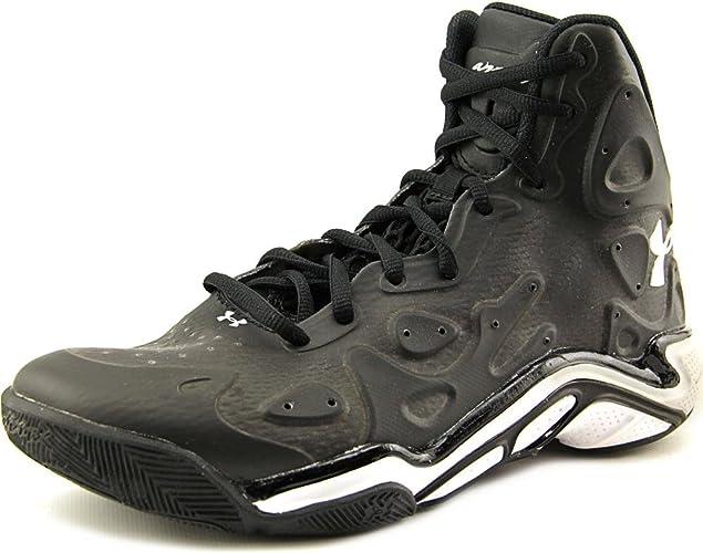 testigo Confundir este  Under Armour Mens UA Micro G® Anatomix Spawn 2 Basketball Shoes 6 Black:  Amazon.co.uk: Shoes & Bags