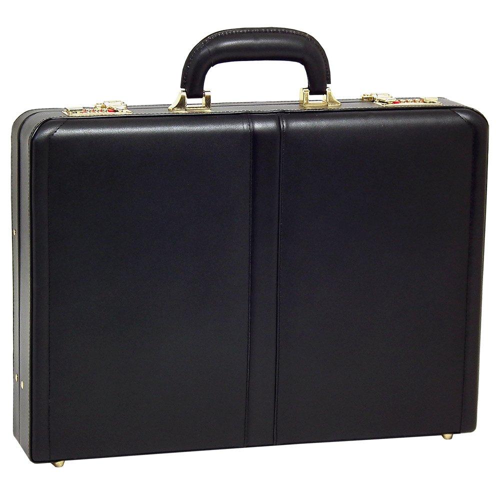 McKleinUSA REAGAN 80445 Black Leather Attache Case