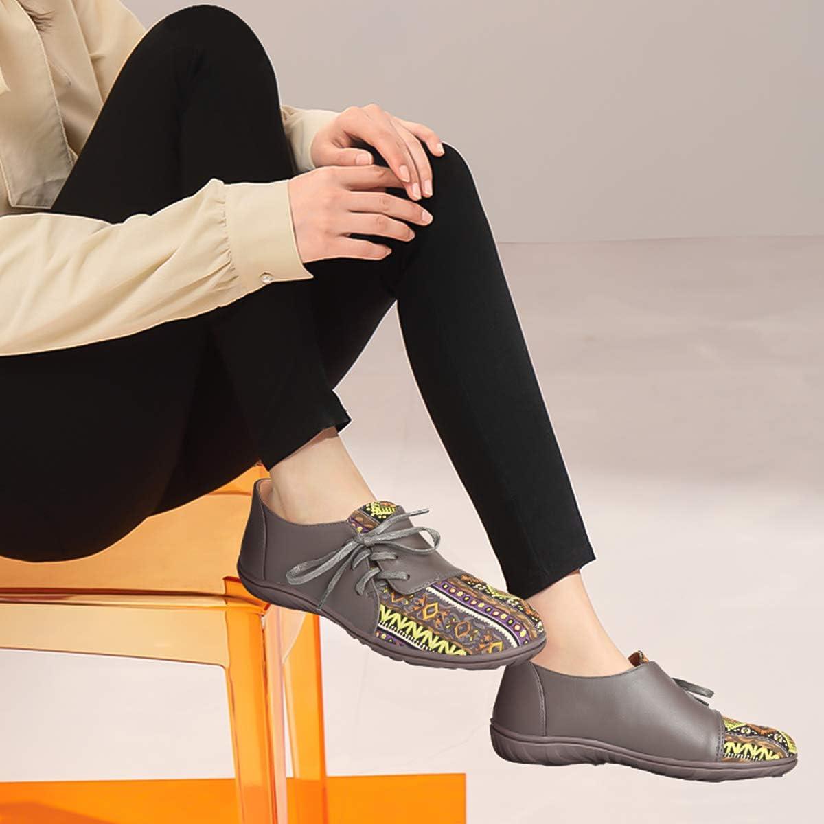 Women/'s Mocassini Scarpe di tela Casual traspirante scarpe basse di guida barca mocassini comodi
