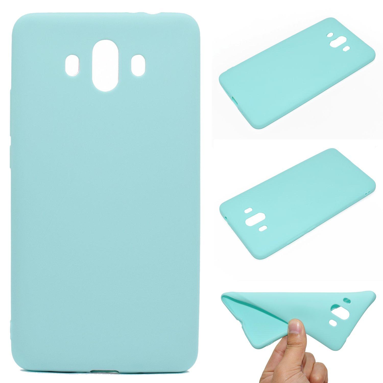Para Huawei Mate 10 Carcasa , YIGA verde Caso TPU Gel Cubierta De Silicona Suave Funda Tapa Case Cover para Huawei Mate 10 (5.9 pulgadas) TT-W-Mate10-tpu-green(YG)