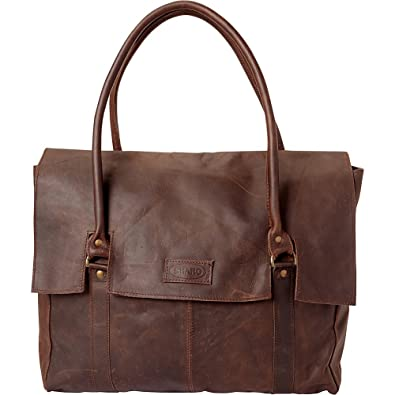 5a4ef907767a Sharo Leather Bags Large Soft Leather Handbag (Dark Brown)  Handbags   Amazon.com