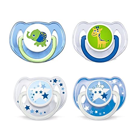 Philips AVENT Chupetes Day & Night//6 - 18 Mo//Neutral Mix//Juego De ...