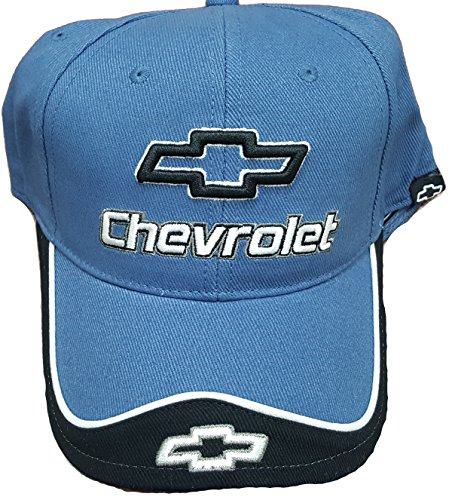 Contrasting Tie - Chevy Bowtie Contrasting Hat - Blue/Charcoal