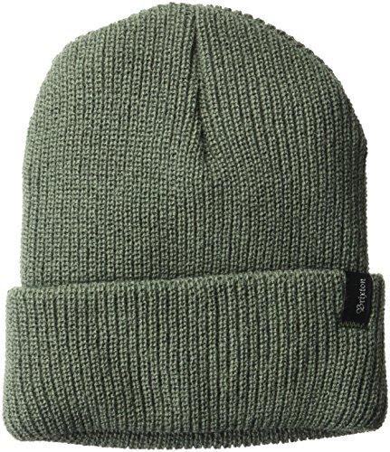 Olive Mens Beanie (Brixton Men's Heist Beanie Hat, Cypress, One Size)