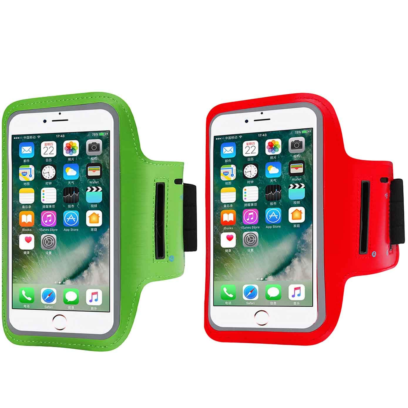 Amazon com: 2 Pack Armband Compatible with Large Phone