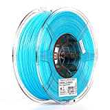 eSUN 1.75mm Light Blue PLA PRO (PLA+) 3D Printer Filament 1KG Spool (2.2lbs), Light Blue