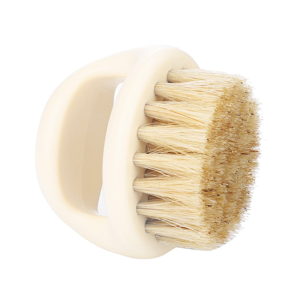 Shaving Brush, Wild Boar Fur for Men Beard Mustache Trimming Salon Shaven Tool(#4) Filfeel