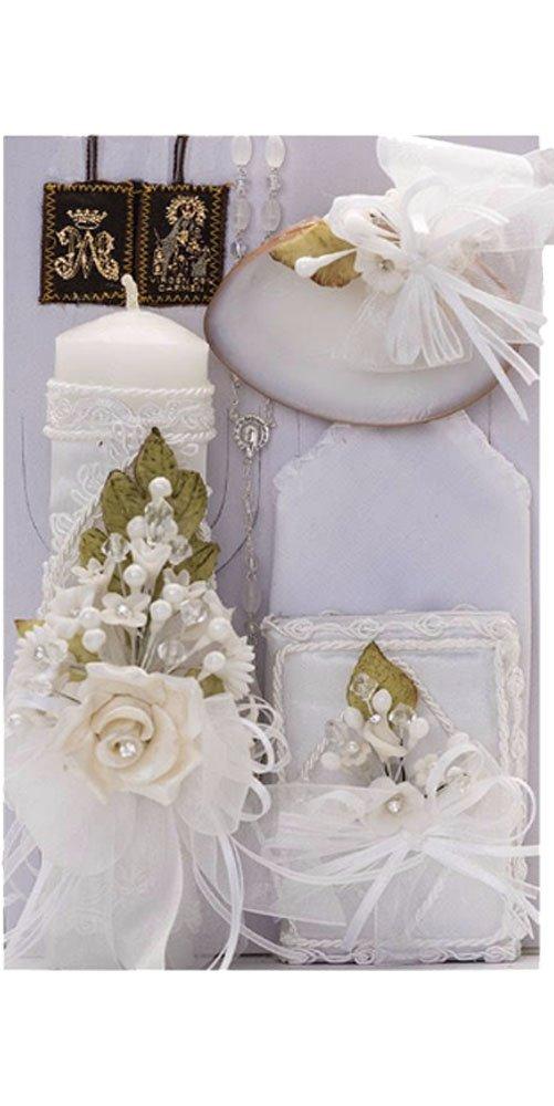 Cocochildren.com Mx-426 Octavia Baptism/Christening Set (White)