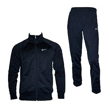 Nike Classic Polywarp warm-up Chándal de hombre, negro: Amazon.es ...