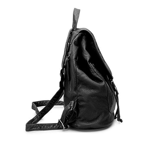 LAIDAYE Ladies Backpack Shoulder Bag Shoulder Bag Ladies Travel Bag Ladies  Shoulder Bag Multi-functional Female Bag,Black-OneSize: Amazon.co.uk:  Clothing