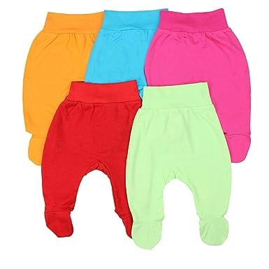 9dbd63092a TupTam Unisex Baby Strampelhose mit Fuß 5er Pack, Farbe: Mädchen, Größe: 56
