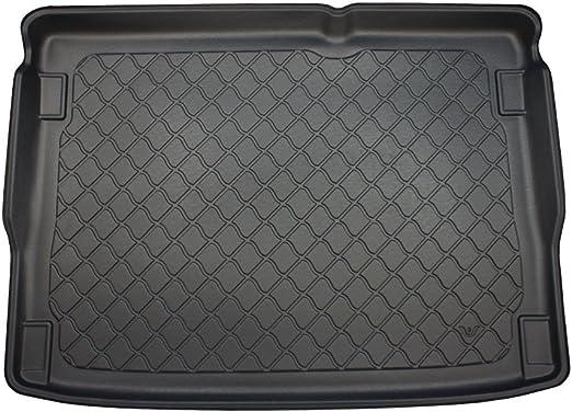 bottom floor of the boot /& Removable Anti-Slip Charcoal Carpet Insert carmats4u Tailored Boot Liner//Tray//Mat for Vitara II 2014