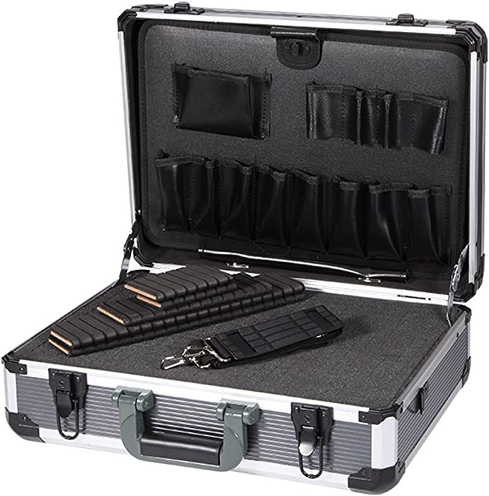 Ordinaire Aluminum Hard Tool Box Case Portable Carrying Case Briefcase Flight Cases  Tool Case Organizer Toolbox Storage Box