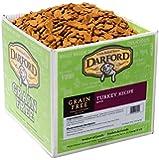 Darford Holistic All Natural Grain Free Turkey Recipe Bulk Mini Sized Dog Treats, 19-Pound